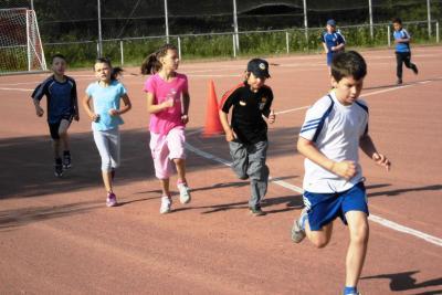 Foto zu Meldung: Sportfest der Grundschule