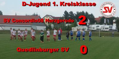 Foto zu Meldung: D-Jugend siegt gegen Quedlinburg !