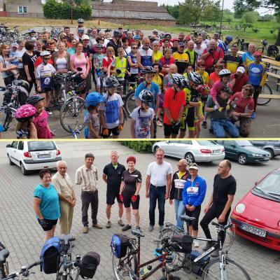 Foto zur Meldung: Rehfelder bei Zwierzyner Familienradtour