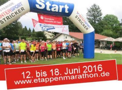 Foto zu Meldung: Etappenmarathon 2016: Start in Förste
