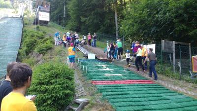 Foto zur Meldung: Ruhlaer Abendsprunglauf im Rahmen der Kreisjugendspiele des Sportkreises Eisenach