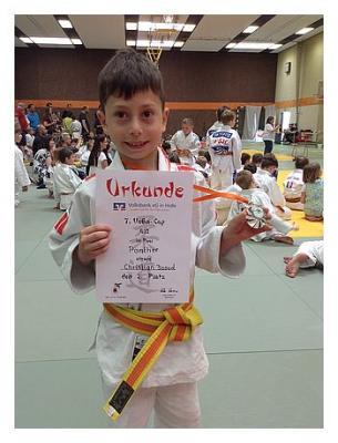 Foto zur Meldung: Hemminger Judoka beim 7. VoBa-Cup in Holle