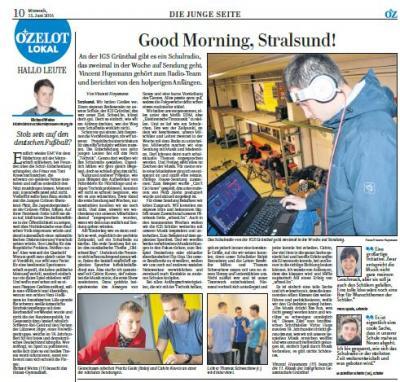 Foto zur Meldung: Good Morning, Stralsund!