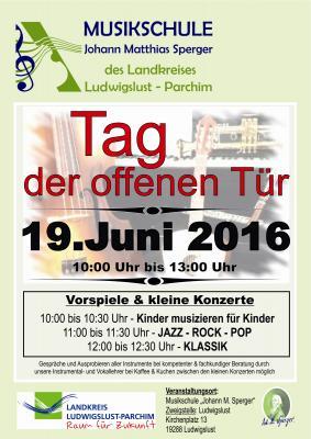 Foto zur Meldung: Zweigstelle Ludwigslust öffnet ihre Türen