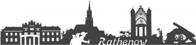 Foto zur Meldung: Rathenow-Skyline als Aufkleber