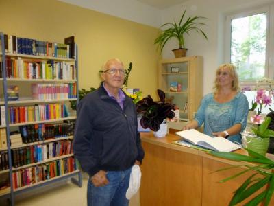 Foto zur Meldung: Leseratten aufgepasst! Bibliothek Brück wiedereröffnet