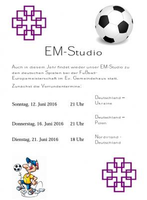 Foto zur Meldung: Auf ins Oberneiser EM-Studio