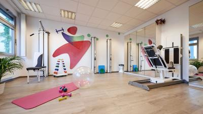 Trainingsraum Physiotherapie im Centrum