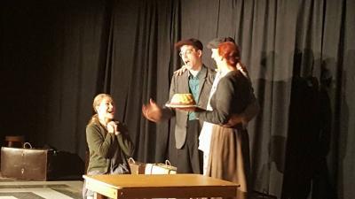 Foto zur Meldung: Theateraufführung im Ketziner Jugendclub