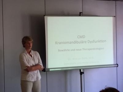 Vorschaubild zur Meldung: Weiterbildung CMD mit Fr. Dr. Diehl
