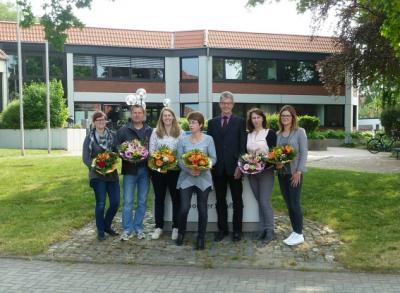 Foto zur Meldung: Personalrat der Samtgemeindeverwaltung Velpke gewählt