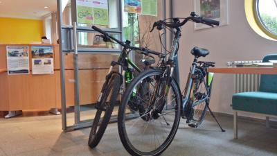 Vorschaubild zur Meldung: E-Bike zum Verleih in der Tourist-Info