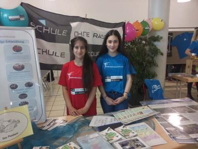 Foto zur Meldung: Hohe Auszeichnung für die Anne-Frank-Schule
