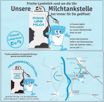 Foto zu Meldung: Milchtankstelle in Klietznick