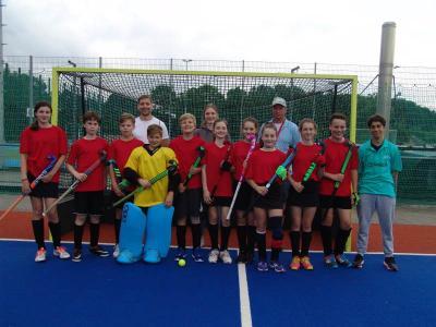 Foto zur Meldung: Schulhockeypokal 2016 in Mannheim