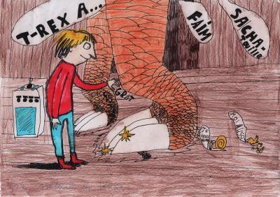 Vorschaubild zur Meldung: Max gratouille... - Classe 4b