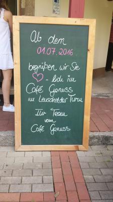 Foto zu Meldung: Eröffnung Cafe´Genuss am 01.07.2016 im Lenschelder Turm