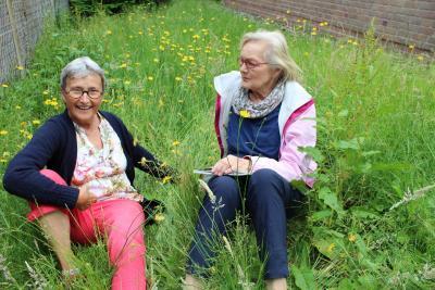 Foto zur Meldung: Blumensamen als Begrüßungsgeschenk