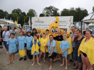 Foto zur Meldung: Start beim 16. Kindersundschwimmen