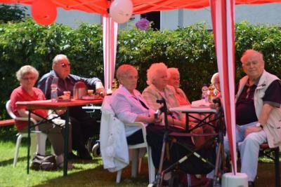 Foto zur Meldung: Sommerfest des AWO Sozialstation