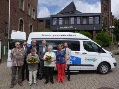 Foto zur Meldung: Bürgerbus in der VG Rheinböllen erfolgreich gestartet!