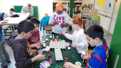 Foto zur Meldung: Soziales Lernen in der Hausaufgabenhilfe der Kinder- und Jugendförderung