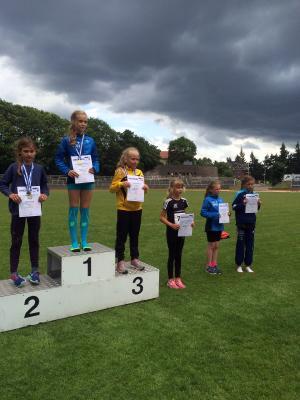 Foto zur Meldung: Leichtathletik-Landesmeisterschaften der Kinder in Schwerin