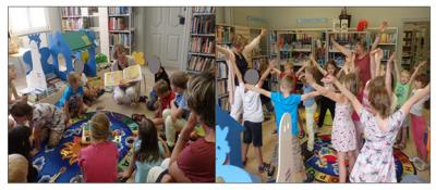 Foto zur Meldung: Reime heiter weiter:  Zu einem bunten Programm für zukünftige Schulanfänger
