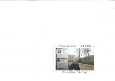 Foto zur Meldung: Kaspar Michels tritt in den verdienten Ruhestand