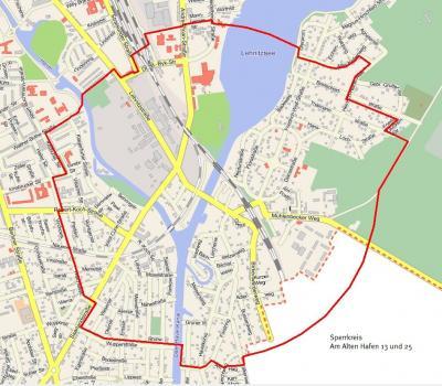 Foto zu Meldung: Aktualisiert: Anomalie am Alten Hafen 25 in Lehnitz – Am 2. August wird Aussage erwartet