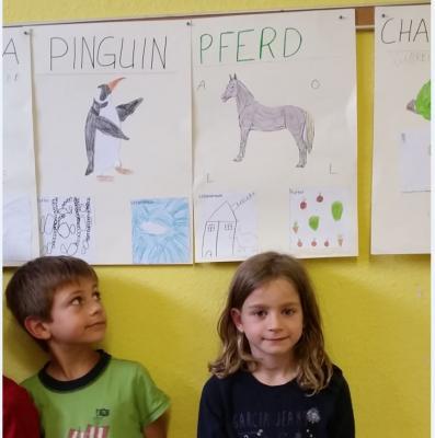Mein Tier - Klasse 1d