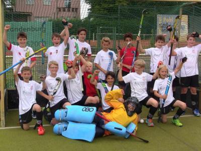 Foto zur Meldung: Knaben B bei den 11. Kinder- und Jugendsportspielen