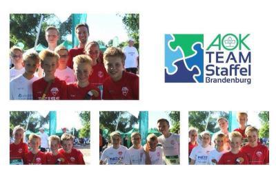 Foto zur Meldung: KB beim AOK Team-Staffellauf in Brandenburg an der Havel