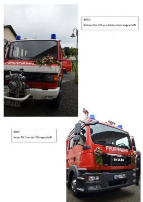 Foto zur Meldung: Danke - für das gelungene Feuerwehrfest!