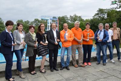 Foto zu Meldung: Finsterwalde verteidigt Titel  beim 20:16 Stundenschwimmen