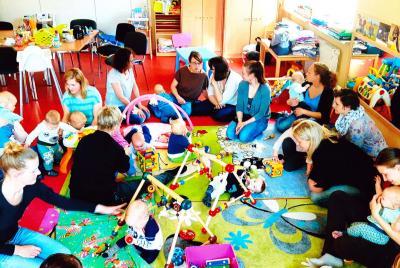 Foto zur Meldung: Jeden Dienstag - Babytreff in Hangelsberg