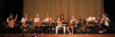 Foto zur Meldung: Musikschüler verabschieden sich in die Sommerferien