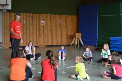Foto zur Meldung: Turn- und Leichtathletik-Trainingslager 2016 in Clausthal-Zellerfeld 2. Tag