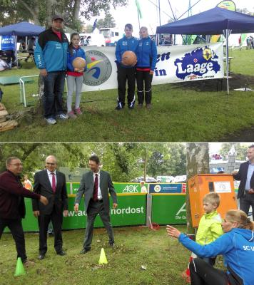 Foto zur Meldung: 12. Mecklenburg-Vorpommern-Tag mit vielen sportlichen Menschen