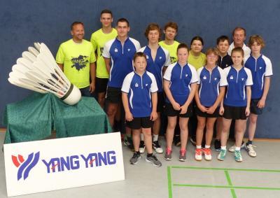 Foto zur Meldung: Tolle Tröbitzer Leistungen – aber die Badmintontitel sackten die überregionalen und internationalen Konkurrenten ein