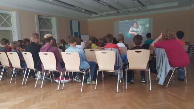 Foto zu Meldung: Filmrunden der 7. Klassen