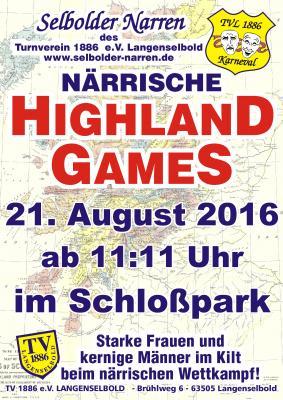 Foto zu Meldung: 10. närrische Highlandgames der Selbolder Narren
