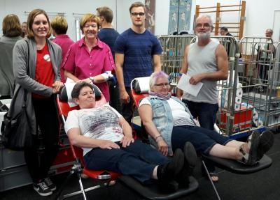 Foto zu Meldung: TV Hude ermöglicht und unterstützt Blutspenden
