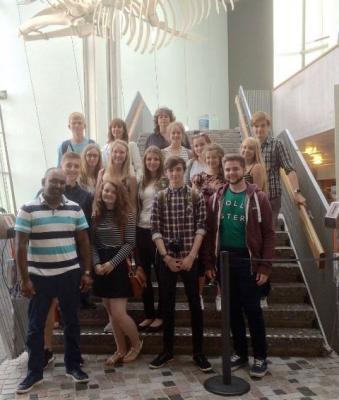 Foto zur Meldung: BeLonGer - britische Partnerschüler zu Gast an der IGS