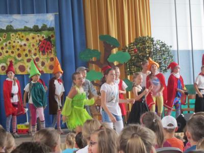 Foto zur Meldung: Theater und Musical zum Abschluss des Schuljahres