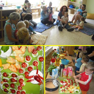 Foto zu Meldung: Abschieds-Willkommens-Picknick