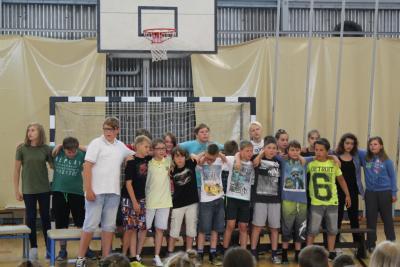 Foto zur Meldung: Alles Gute Klasse 6
