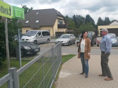 Foto zu Meldung: Bundespolitikerin besucht Energiegenossenschaft