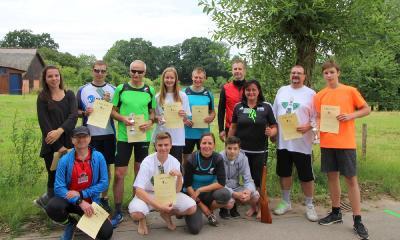 Foto zur Meldung: Skater-Biathlon in Witzin - mein Erlebnis-Bericht