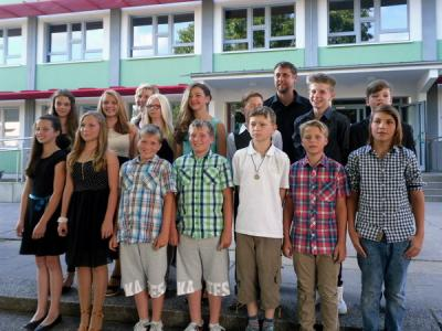 Foto zur Meldung: Auf Wiedersehen, Klasse 6